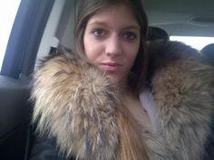 Sexy fur collar