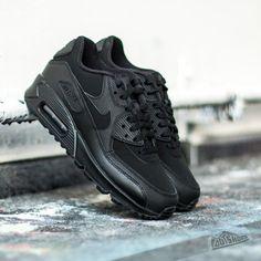 7b83fea7dff Nike Air Max 90 GS Black  Dark Grey - Footshop