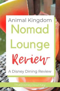 Nomad Lounge is a great Disney dining option at Animal Kingdom. Not a quick service, but not a table service either, it is a great choice for your next Disney vacation. Nomad Lounge is an overlooked option for dining at Animal Kingdom. Disney World Secrets, Disney World Food, Disney World Restaurants, Disney World Tips And Tricks, Disney Tips, Disney Worlds, Walt Disney, Downtown Disney, Disney Cruise
