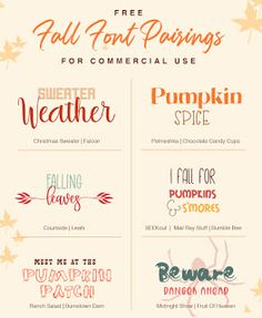 Free Fall Font Pairings For Commercial Use Handwritten Fonts, Calligraphy Fonts, Calligraphy Alphabet, Sign Fonts, Invitation Fonts, Monogram Fonts, Monogram Letters, Fall Fonts, Online Fonts