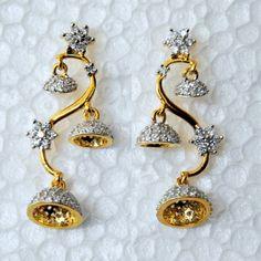The Tree of Life Jumka - Damini - The Artisans of India Jhumki Earrings, Indian Earrings, Silver Earrings, Drop Earrings, Ethnic Jewelry, Indian Jewelry, Indian Engagement Ring, Tree Of Life Earrings, Traditional Indian Jewellery