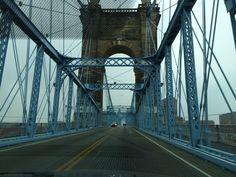 Cincinnati singing bridge