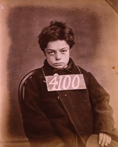ca. 1872, [George Davey was sentenced to one month's hard labour in Wandsworth Prison in 1872 for stealing two rabbits. He was ten years old.]