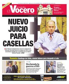 Edición 25 de Noviembre 2015  El Vocero de Puerto Rico