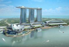 Moshe Safdie's Marina Bay Sands, Singapore