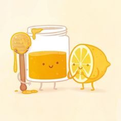 I got Honey and Lemon! Which Adorable Food Pair Are You And Your Best Friend? (This is us Heather!)