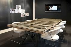 Conference table inspirations  http://www.officedesigngallery.com
