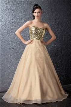 Attractive Floor Length Sweetheart Polinas Prom Dress & attractive Prom Dresses
