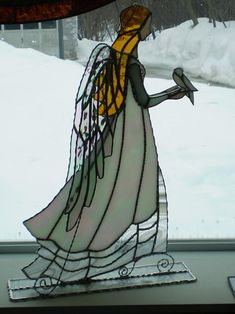 Bride Angel-AmberLyn's STG - by AmberLyn. How beautiful, might use the pattern to do a needle felted picture.