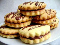 Ricetta Biscotti farciti al cioccolato