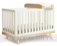Oeuf Convertible Crib in Walnut - - Cribs - Nursery Furniture - Baby & Kids' Furniture - Furniture Modern Baby Cribs, Best Baby Cribs, Best Crib, Modern Nurseries, Girl Nurseries, Modern Kids Furniture, Nursery Furniture, Toddler Furniture, Children Furniture