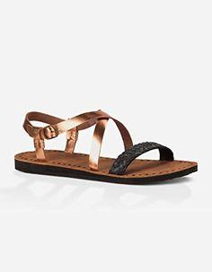 UGG® Australia - Women´s Jordyne - Damen Flechtsandale mit Riemchen 1006872, Farbe:gold;Größe:US 10 / EUR 41 - http://on-line-kaufen.de/ugg/41-eu-10-us-ugg-jordyne-sneaker