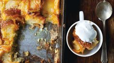 orange marmalade bread-and-butter pudding