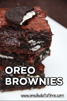 Oreo Fudge Brownies Recipe