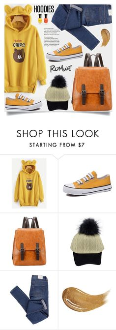 """""""In My Hood: Cozy Hoodies"""" by samra-bv ❤ liked on Polyvore featuring Cheap Monday, Too Faced Cosmetics and Deborah Lippmann"""