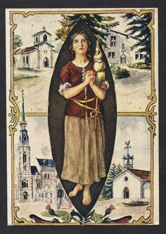 St Joan of Arc Gorgeous Vintage Post Card of the by Divinegiftshop