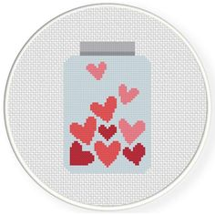 Image result for mason jar cross stitch patterns