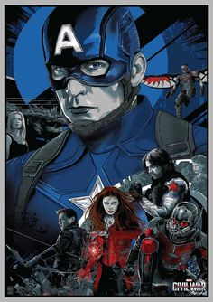 Captain America Civil War, Chris Evans Captain America, Capt America, Marvel Heroes, Marvel Avengers, Marvel Comics, Marvel Art, Posters Geek, Starwars
