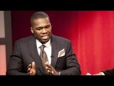 Sorry but Rapper 50 Cent Thinks Like a Harvard Businessman, looks amazing in a suit as he uses his sweet, sweet, voice to talk about how taking his SMS company to great heights.