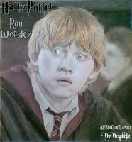 Ron Weasley - Harry Potter- Drawing by BeatrizLoveMyJesus