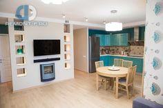 Интерьер кухни-столовой в современном стиле