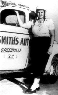 LOUISE SMITH-THE FIRST LADY OF RACING appreciated by Motorheads Performance www.musclecarssanantonio.com
