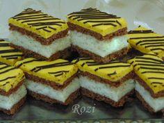 Rozi Erdélyi konyhája: Kedvenc kókuszkocka