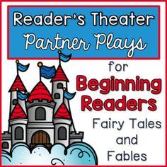 Reader's Theater - These plays can be used for centers, Language Arts activities, fluency practice, partner reading, etc. These plays are designed and created with beginning readers in mind. Each play has large font, picture clues, and predictable sentence patterns.