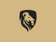 Lion Logo by Shyam B Popular - Logos Logo Lion, Jhon Green, Lion Icon, Security Logo, Crest Logo, Finance Logo, Web Design, Graphic Design, Travel Logo