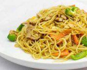 Recetas de fideos chinos fritos con ternera | Qué Recetas