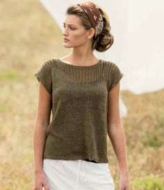 Knitscene's Essential Knitted Tops for Summer Collection   InterweaveStore.com