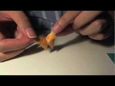 how to fold: easy origami butterfly ... similiar to 'super simple' but without rounded edges