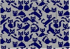 Картинки по запросу Cross stitch trefoil style border pattern
