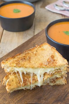 A triple grilled cheese with a is a grilled cheese with a twist. 2 cheeses on…