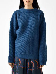 Acne Studios virdis mohair pullover sweater at Bird : ShopBird.com