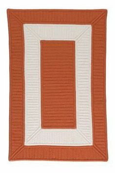 """Colonial Mills Collection 14 Cb93 3'6"""" x 5'6"""" Rust / White Area Rug by Colonial Mills. $200.00. Collection 14 CB93 rust / white rug by Colonial Mills Inc Rugs is a braided rug made from synthetic. It is a 3 x 5 area rug rectangular in shape. The manufacturer describes the rug as a rust / white 3'6"""" x 5'6"""" area rug. Buy discount rugs with Buy Area Rugs .com SKU cb93r042x066s  Also describes as colonial mills rugs, colonial mills collection 14 rugs, collection 14 rugs, 3 x ..."""