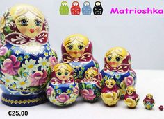 Look for exclusive variety of Matrioshka Dolls