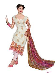 Pakistani Salwar Kameez, Pakistani Suits, Ethnic Fashion, Every Woman, Lawn, Classy, Cream, Cotton, Shopping