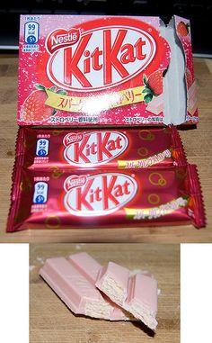 Sparking Strawberry Kit Kat - Japan