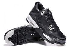 "https://www.jordanay.net/buy-air-jordans-4-retro-oreo-black-leather-white-speckle-for-sale.html BUY AIR JORDANS 4 RETRO ""OREO"" BLACK LEATHER/WHITE SPECKLE FOR SALE Only $93.00 , Free Shipping!"