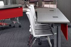 At NeoCon 2012, Haworth is introducing the Planes Training Table, the newest addition to the Planes product line.
