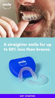 Get the confidence of a smile you'll love for Take the free smile quiz to see how you can get a straighter smile in 6 months on average and for less than braces** with clear aligners from SmileDirectClub. more ideas about fitness Oats Recipes, Egg Recipes, Pizza Recipes, Pork Recipes, Smoothie Recipes, Chicken Recipes, Cookie Recipes, Butter Squash Recipe, Hairstyle Trends
