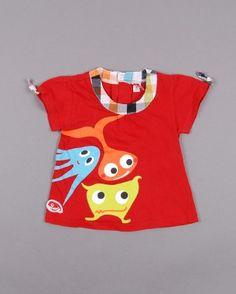 ¡Rojo alegría! Camiseta talla 12 meses (5,20€) http://www.quiquilo.es/bebe-nina/3981-camiseta-de-manga-corta.html