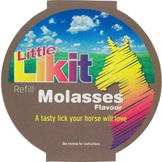 Little Likit Horse Treat Refill Molasses - Item # 42729