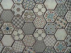 Decoratieve tegels hexagonaal