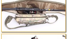 Oxford Cloth Fishing Rod Organizer Bag Tackle Waist Pack Shoulder Backpack Bag Pouch Reel Lure Gear Storage * Check out this great product.