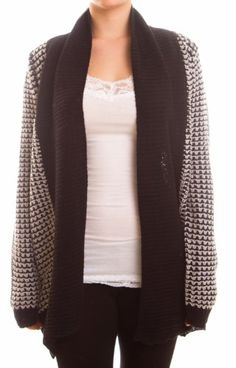 $24.99 cool Women's Long Sleeve Super Chunky Knit Open Cardigan Sweater