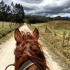 Las montañas de Boyacá. #Paipa #Colombia