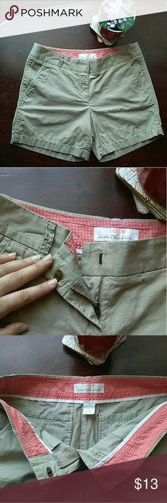"👒J.Crew Chino Tan Shorts with Pockets 100% Cotton J.Crew Shorts. Inseam: 5"" J. Crew Shorts"