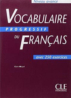 vocabulaire progressif francais nouvelle edition livre audio niveau